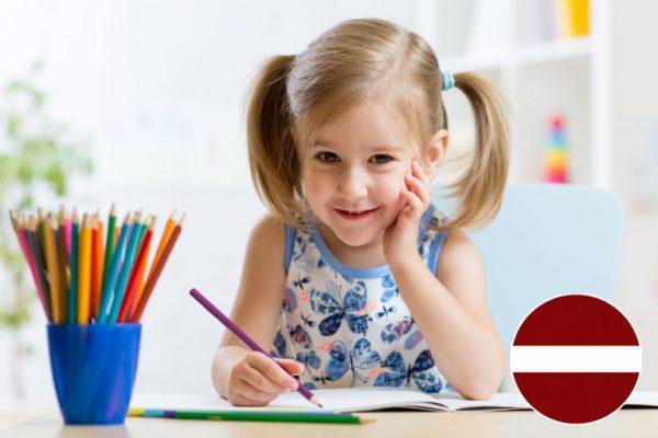 Skrivanek runas skoliņa ar logopēdu 4 gadus veciem bērniem