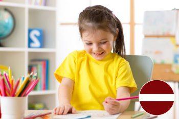 Skrivanek runas skoliņa ar logopēdu 5 gadus veciem bērniem