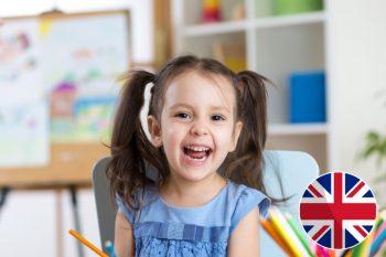 Skrivanek angļu valodas kursi 3 līdz 4 gadus veciem bērniem