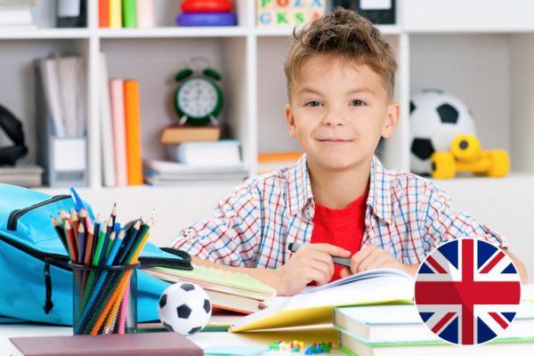 Skrivanek angļu valodas kursi 7 līdz 8 gadus veciem bērniem