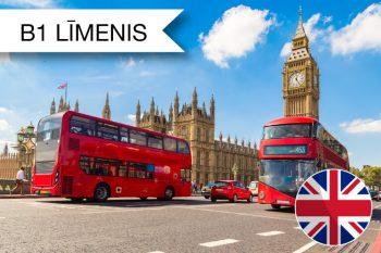 Angļu valodas gramatika – praktisks seminārnodarbību cikls tiešsaistē B1 zināšanu līmenim