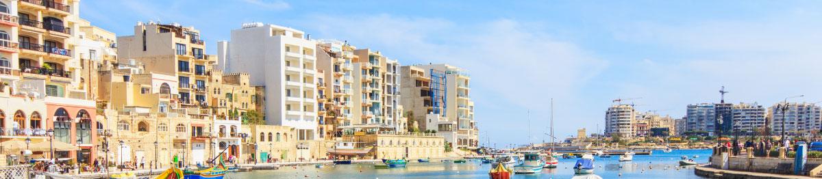 Skrivnek Baltic angļu valodas kursi Sandžvannā, Maltā