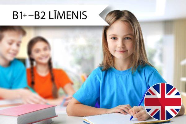Skrivanek Baltic angļu valodas kursi 3. līdz 6. klašu skolēniem B1+ līdz B2 līmenim sestdienās