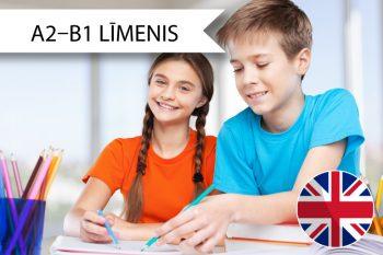 Skrivanek Baltic angļu valodas kursi 3. līdz 6. klašu skolēniem A2 līdz B1 līmenim sestdienās