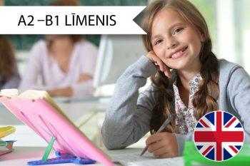 Skrivanek Baltic angļu valodas kursi 7. līdz 9. klašu skolēniem A2 līdz B1 līmenim sestdienās