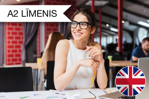 Intensīvie angļu valodas kursi tiešsaistē A2 zināšanu līmenis
