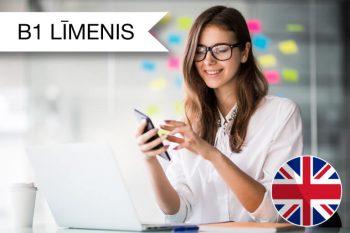 Intensīvie angļu valodas kursi tiešsaistē B1 zināšanu līmenis