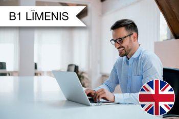 Intensīvie angļu valodas kursi tiešsaistē B1 zināšanu līmenis no rīta