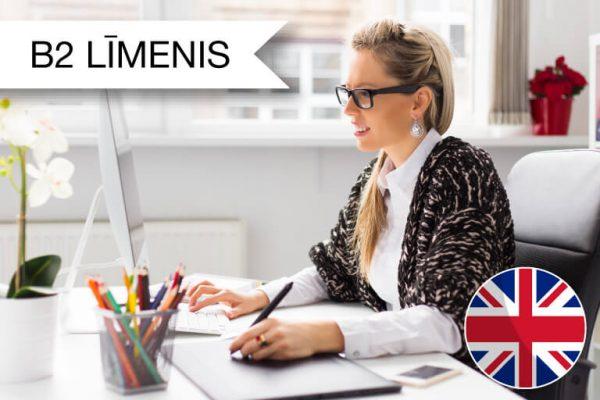 Intensīvie angļu valodas kursi ar ārzemju pasniedzēju, B2 zināšanu līmenis