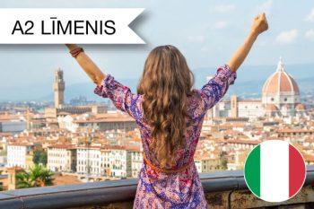 Skrivanek itāļu valodas kursi A2 zināšanu līmenis