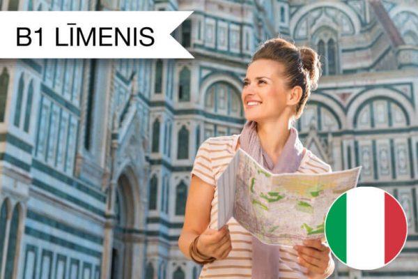 Itāļu valodas kursi B1 zināšanu līmenis