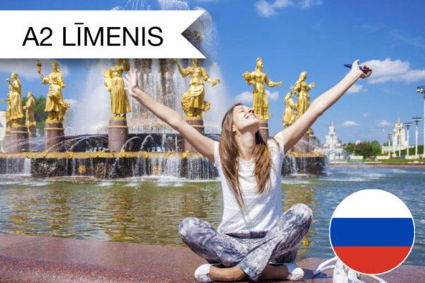 Krievu valodas kursi A2 zināšanu līmenis