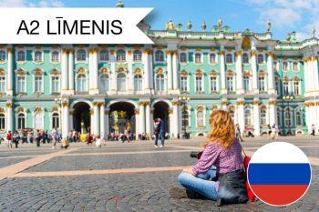 Skrivanek intensīvie krievu valodas kursi augustā A2 zināšanu līmenim