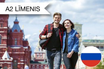 Intensīvie krievu valodas kursi A2 zināšanu līmenim jūlija rītos