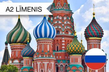 Intensīvie krievu valodas kursi A2 zināšanu līmenim jūlija vakaros