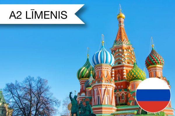 Intensīvie krievu valodas kursi A2 zināšanu līmenim augusta rītos