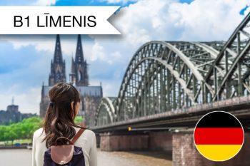 Vācu valodas kursi B1 zināšanu līmenis