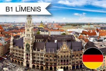 Skrivanek vācu valodas kursi B1 zināšanu līmenim