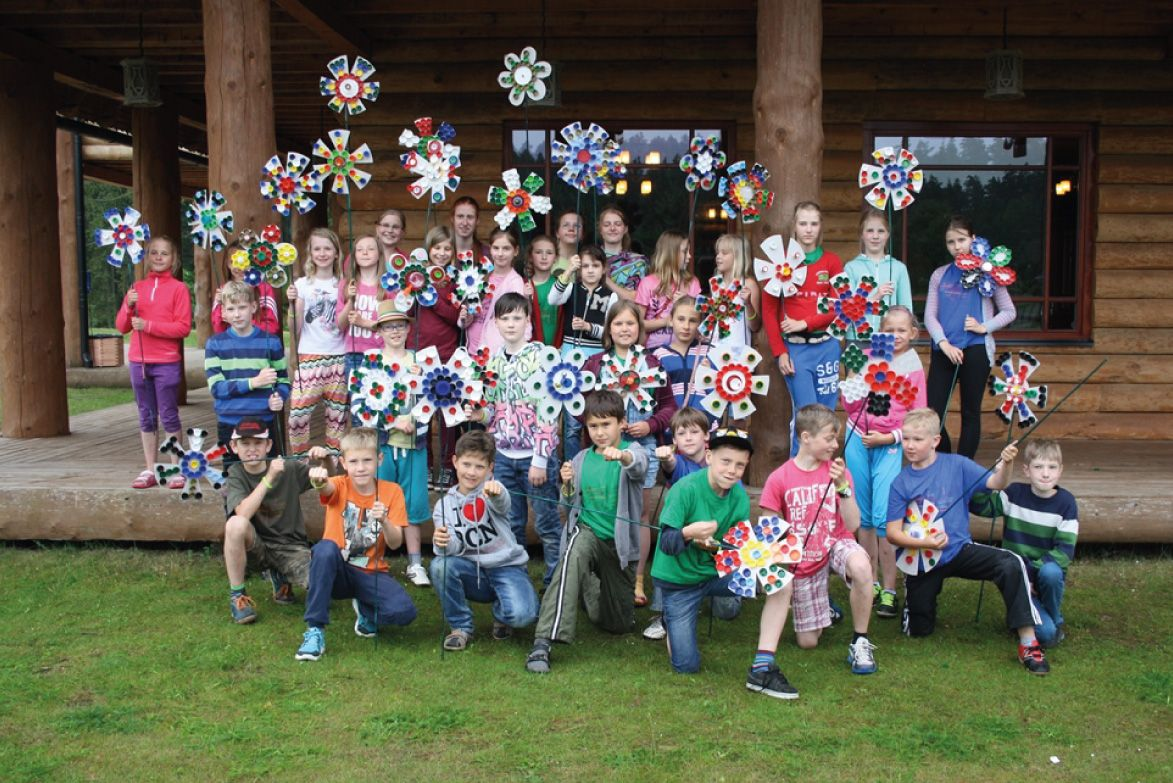 Skrivanek Baltic valodu nometnes bērniem un jauniešiem