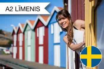 Skrivanek zviedru valodas kursi A2 zināšanu līmenim