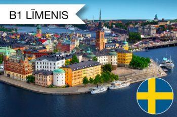 Zviedru valodas kursi B1 zināšanu līmenis